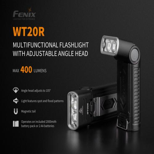 FENİX WT20R LED FLASHLİGHT